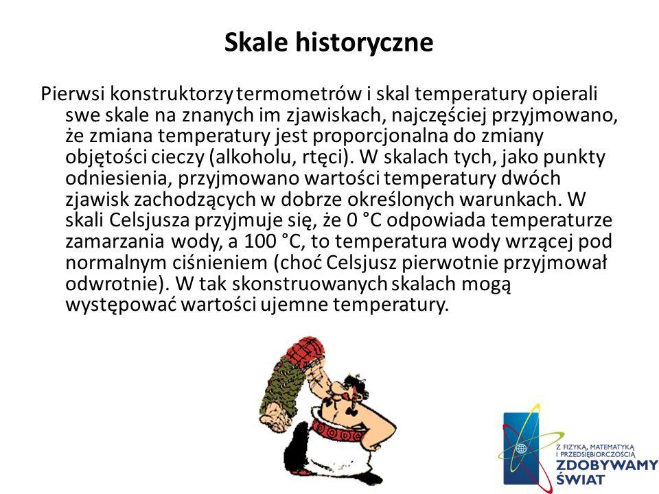Skale historyczne