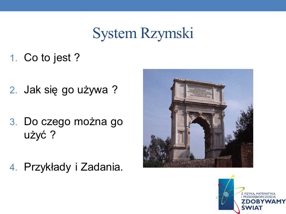 System Rzymski Co to jest Jak się go używa