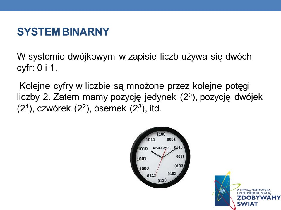 System binarny