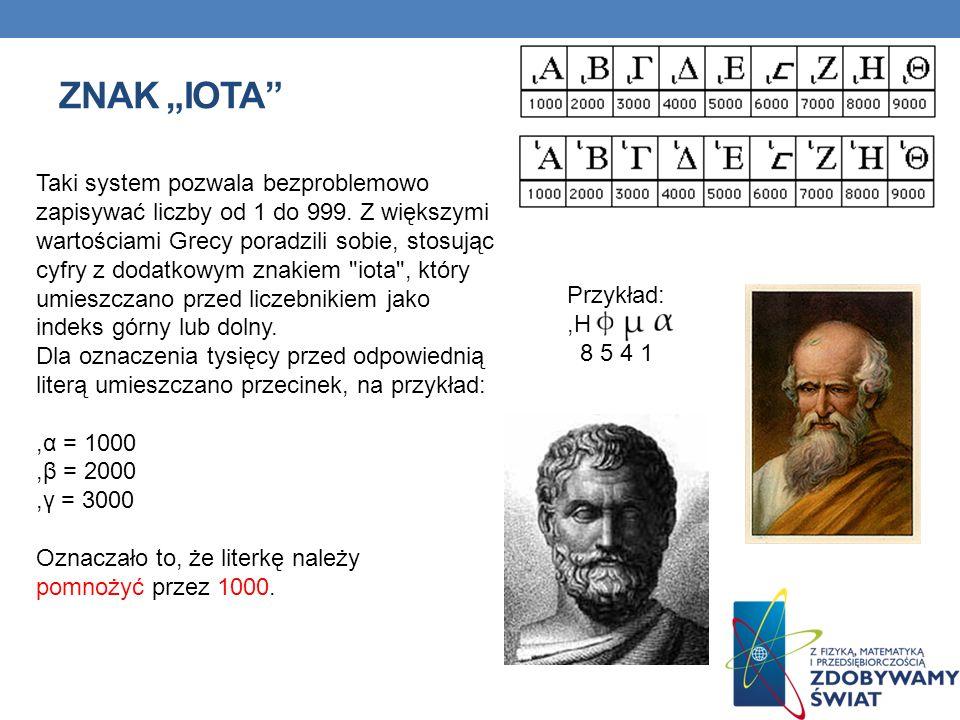 """Znak """"iota"""