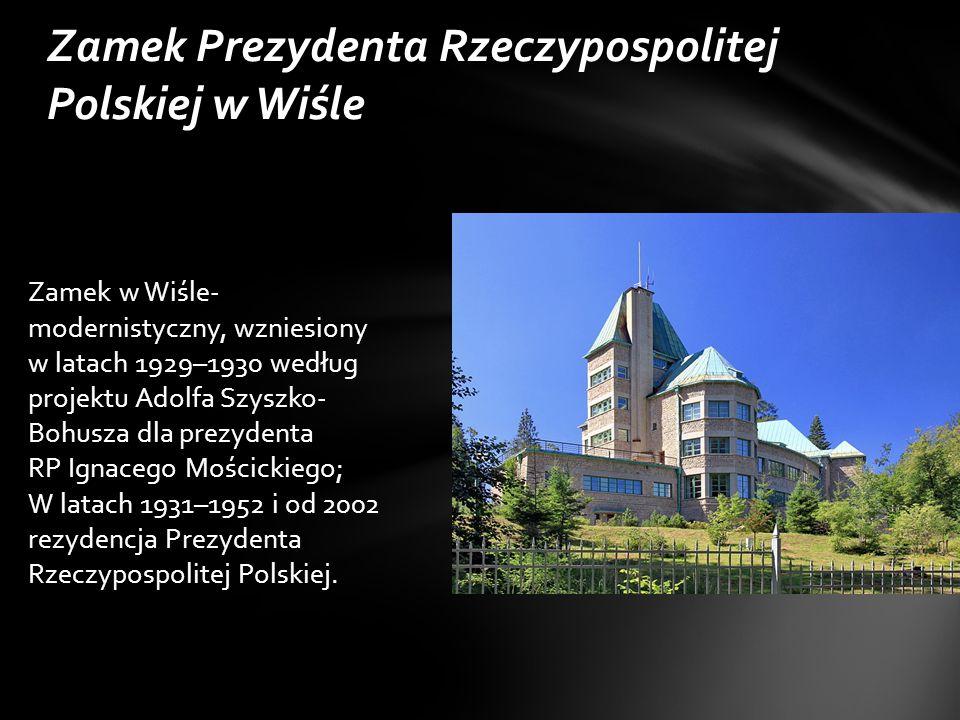 Zamek Prezydenta Rzeczypospolitej Polskiej w Wiśle