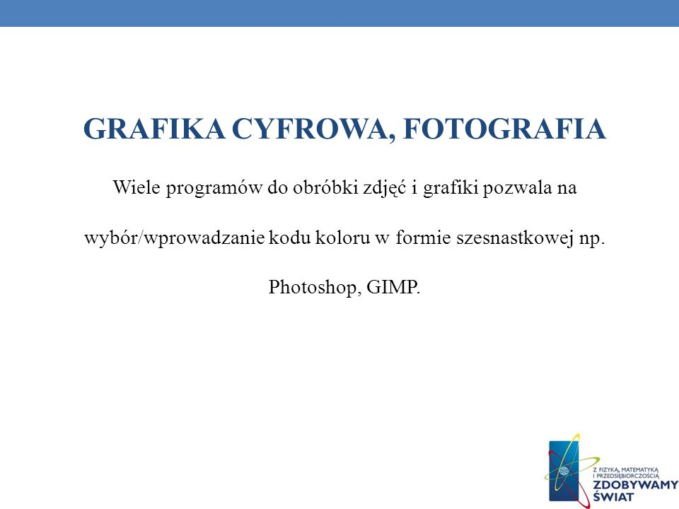 GRAFIKA CYFROWA, FOTOGRAFIA