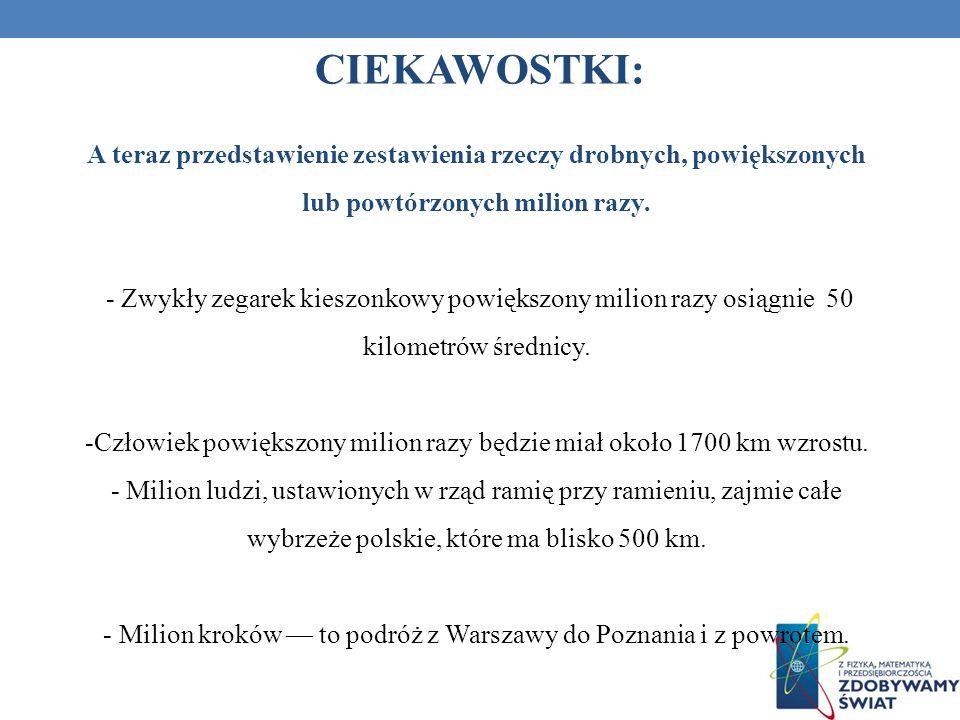 Milion kroków — to podróż z Warszawy do Poznania i z powrotem.