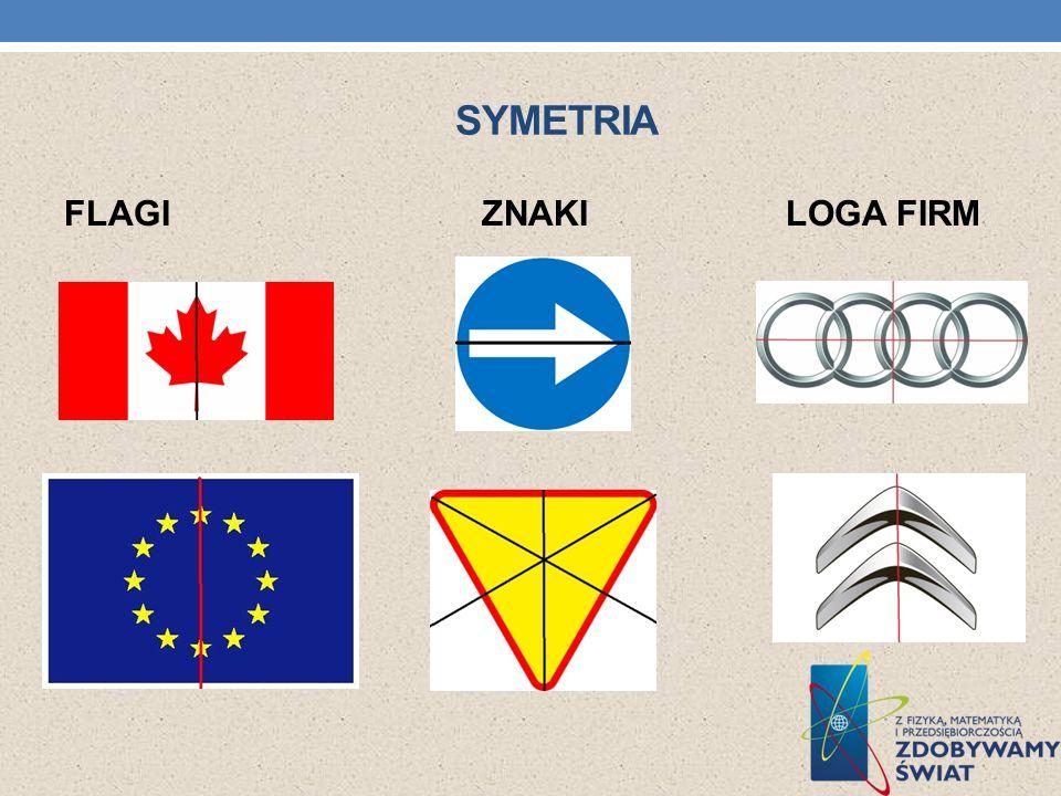 Symetria FLAGI ZNAKI LOGA FIRM