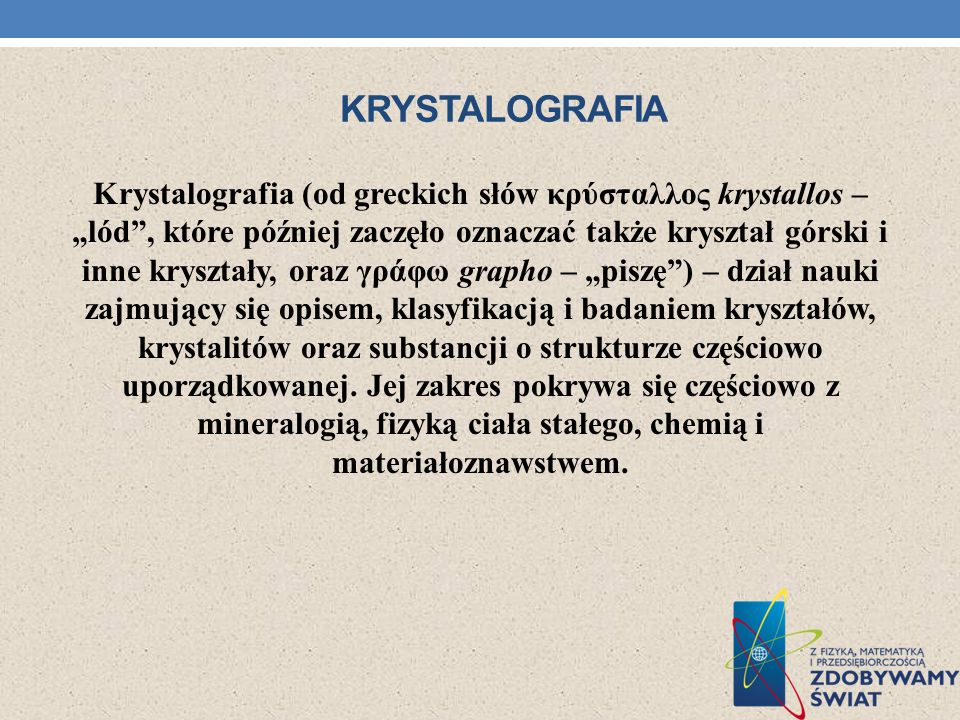 krystalografia