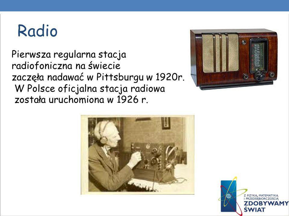 Radio Pierwsza regularna stacja radiofoniczna na świecie