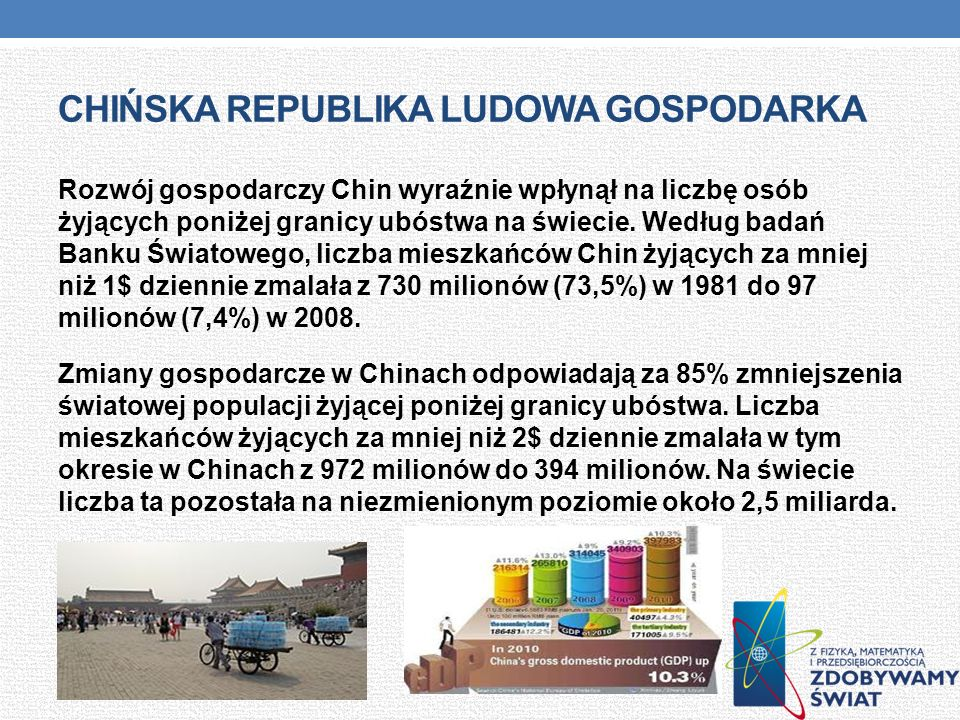 Chińska republika ludowa gospodarka