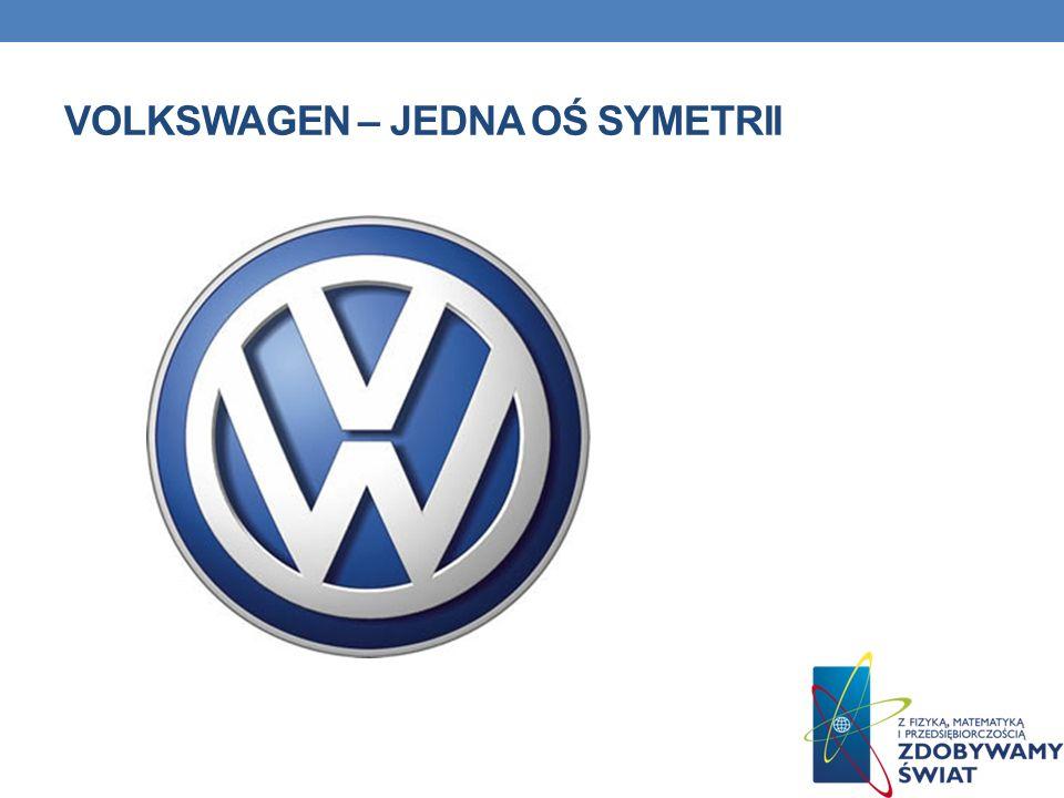 Volkswagen – jedna oś symetrii