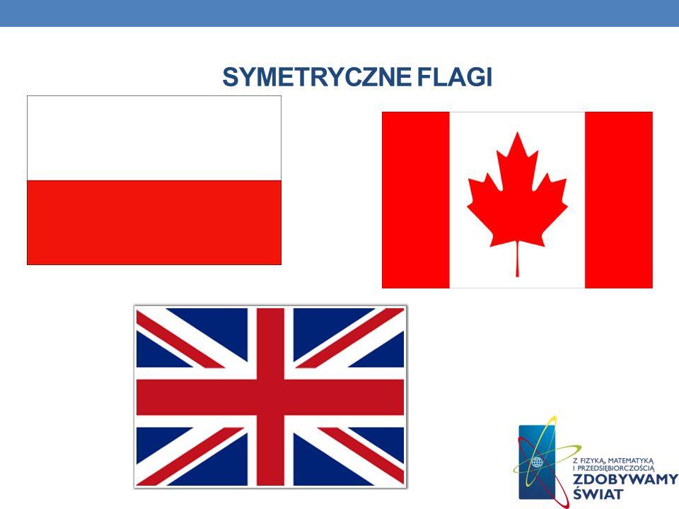 SYMETRYCZNE FLAGI