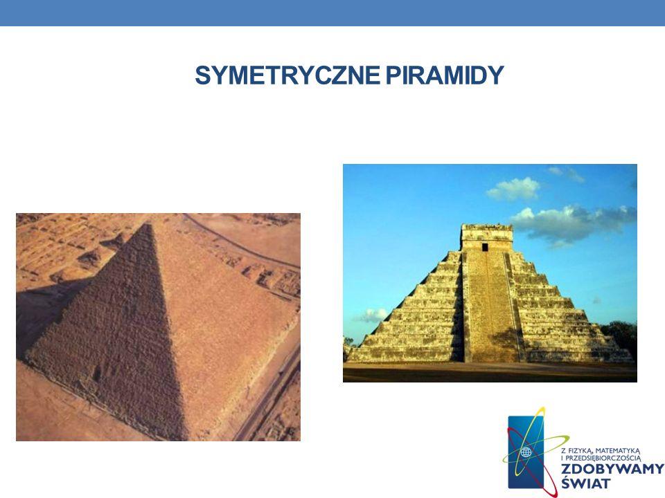 Symetryczne piramidy