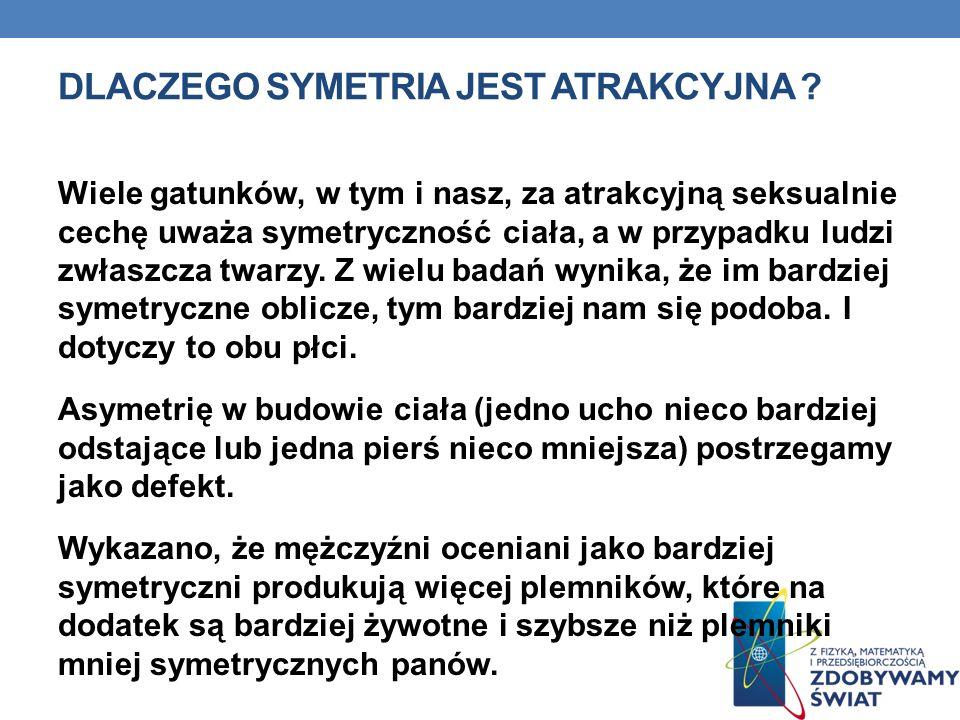 Dlaczego symetria jest atrakcyjna
