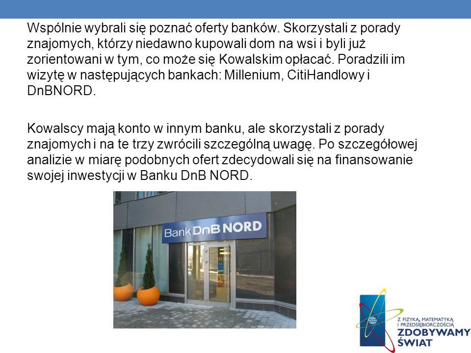 Wspólnie wybrali się poznać oferty banków