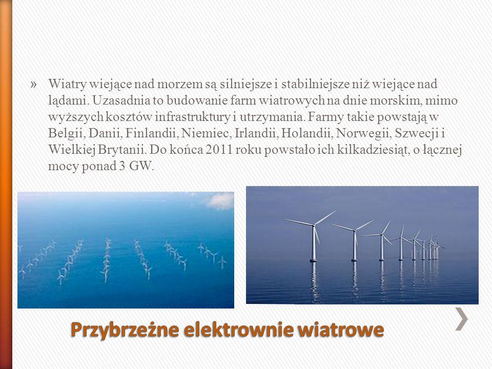 Przybrzeżne elektrownie wiatrowe