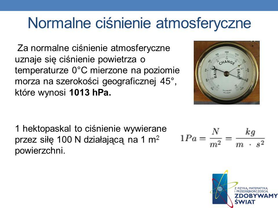 Normalne ciśnienie atmosferyczne