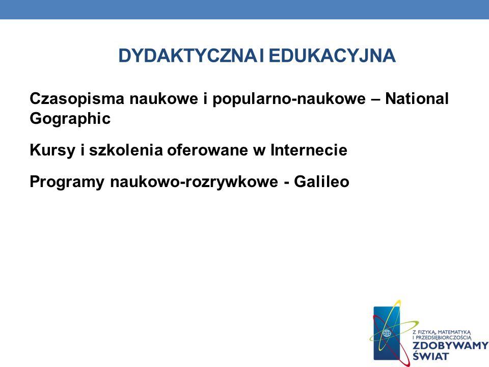 Dydaktyczna i edukacyjna