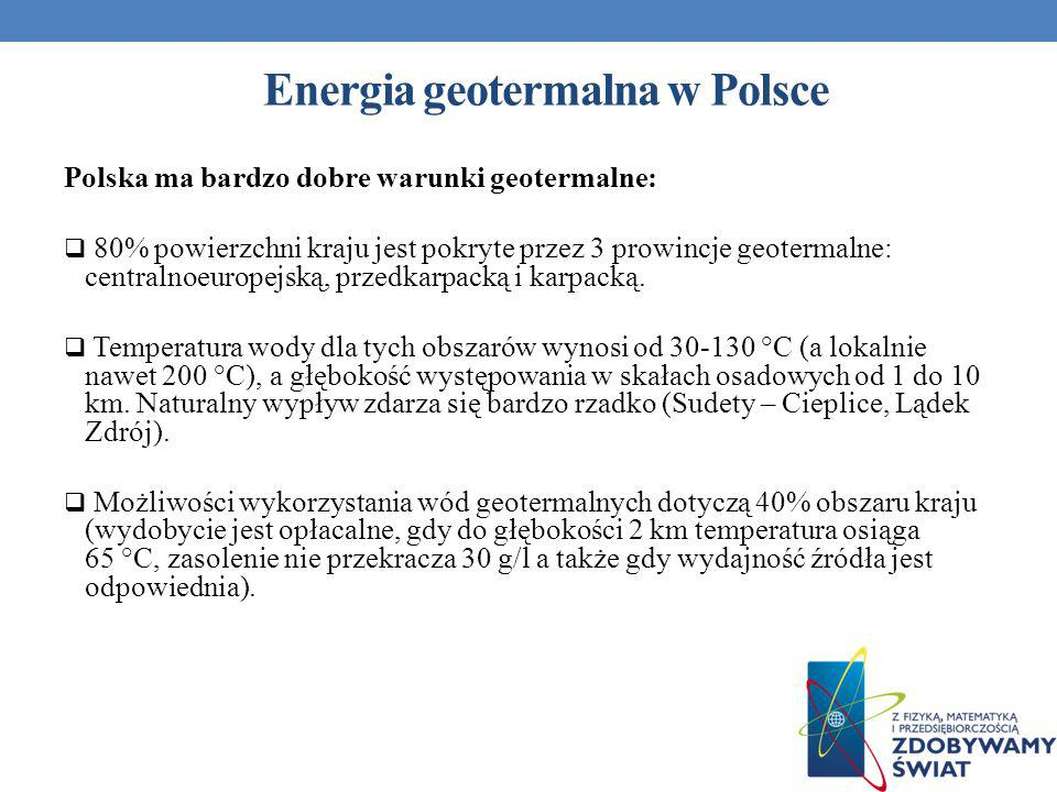 Energia geotermalna w Polsce