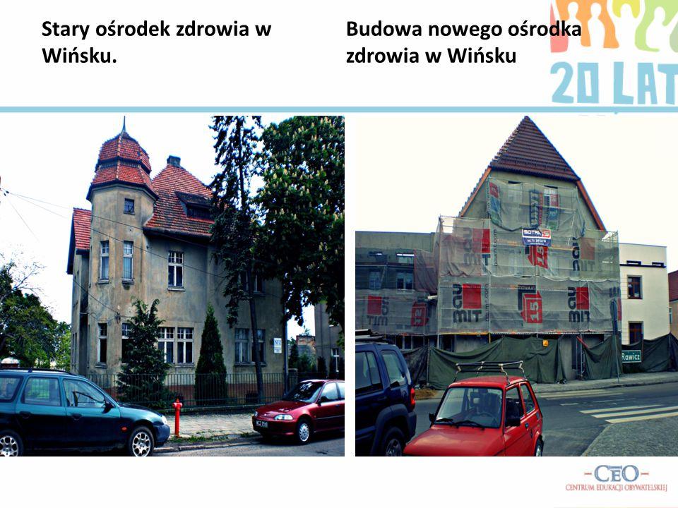 Stary ośrodek zdrowia w Wińsku.
