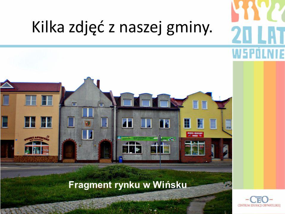 Kilka zdjęć z naszej gminy.