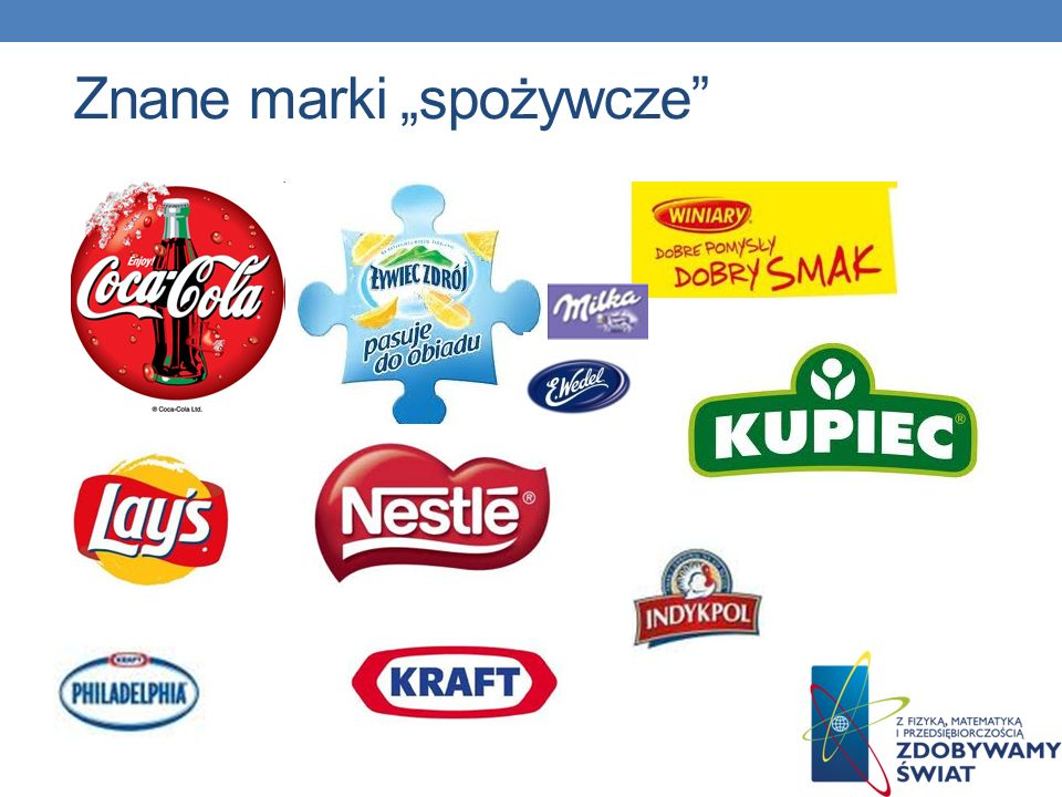 """Znane marki """"spożywcze"""
