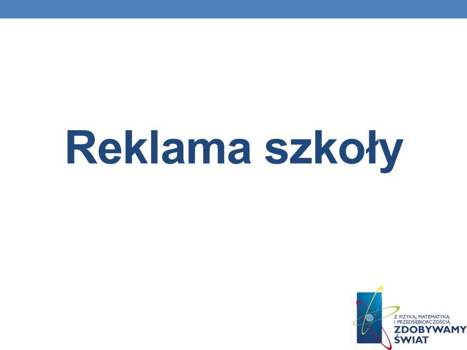 Reklama szkoły
