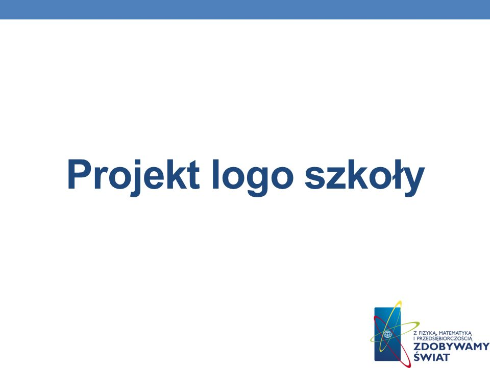 Projekt logo szkoły