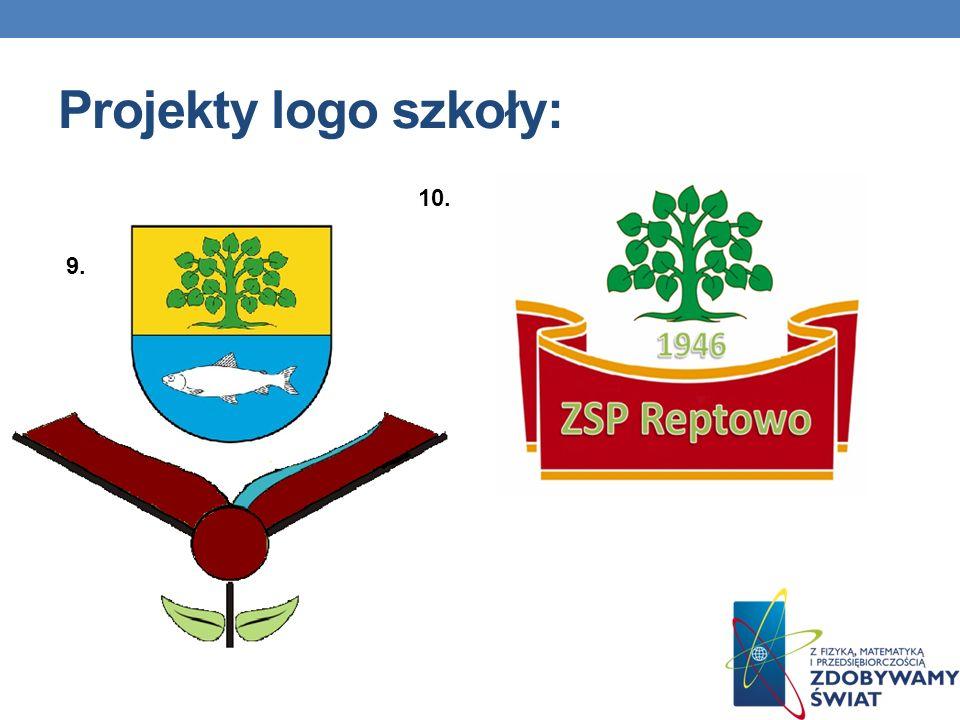 Projekty logo szkoły: 10. 9.