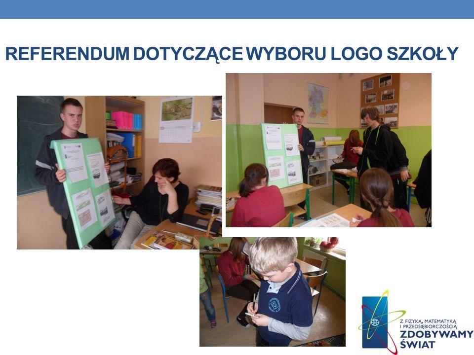 Referendum dotyczące wyboru logo szkoły