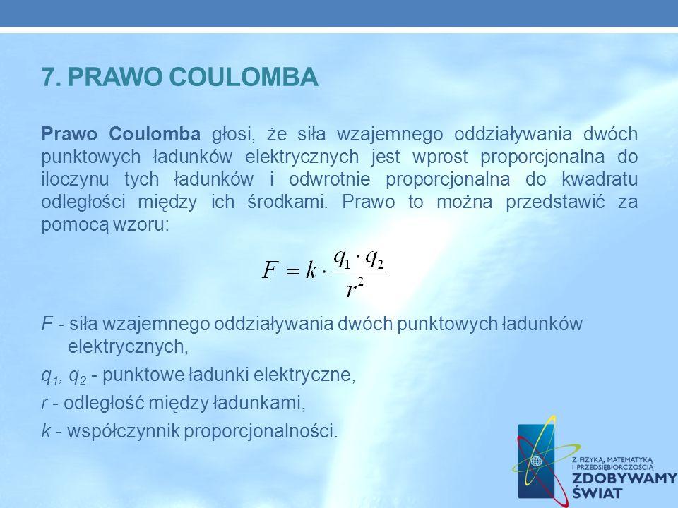 7. Prawo coulomba