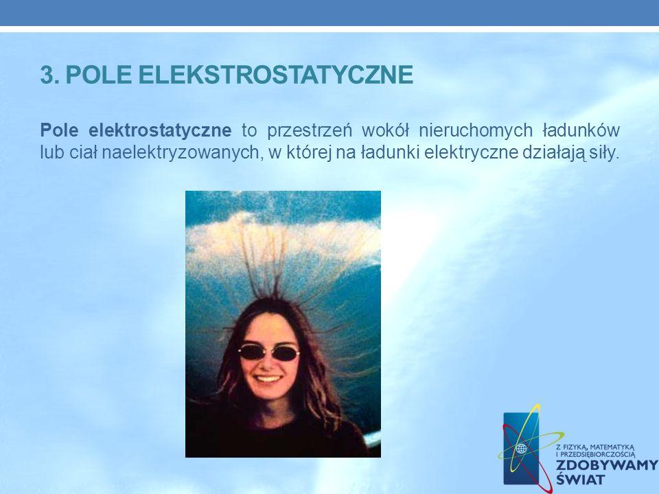 3. POLE ELEKSTROSTATYCZNE