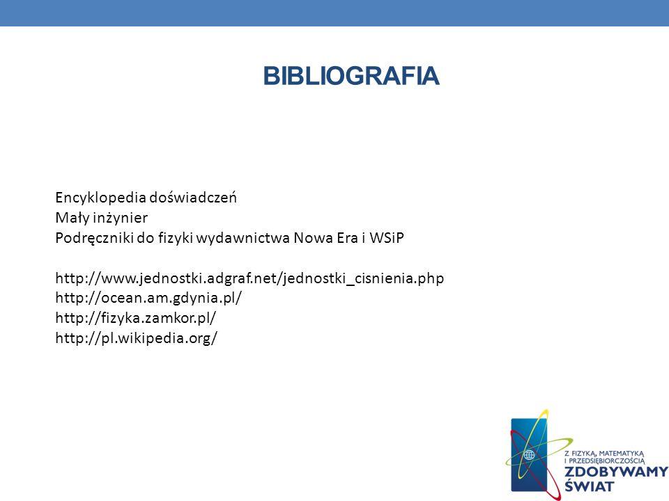 bibliografia Encyklopedia doświadczeń Mały inżynier