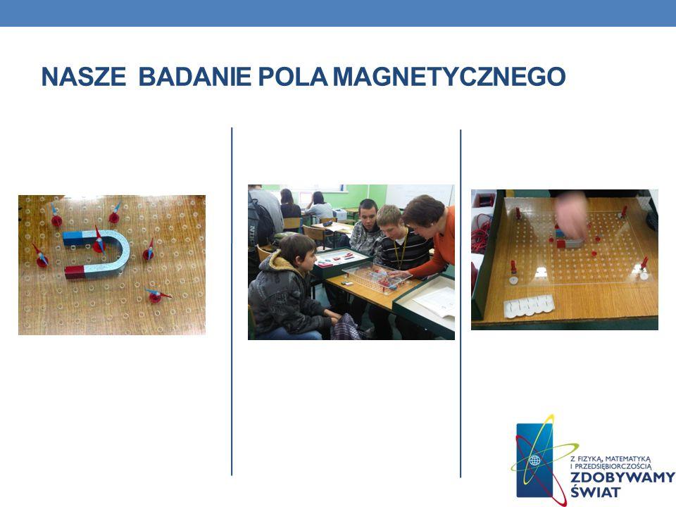 Nasze Badanie pola magnetycznego