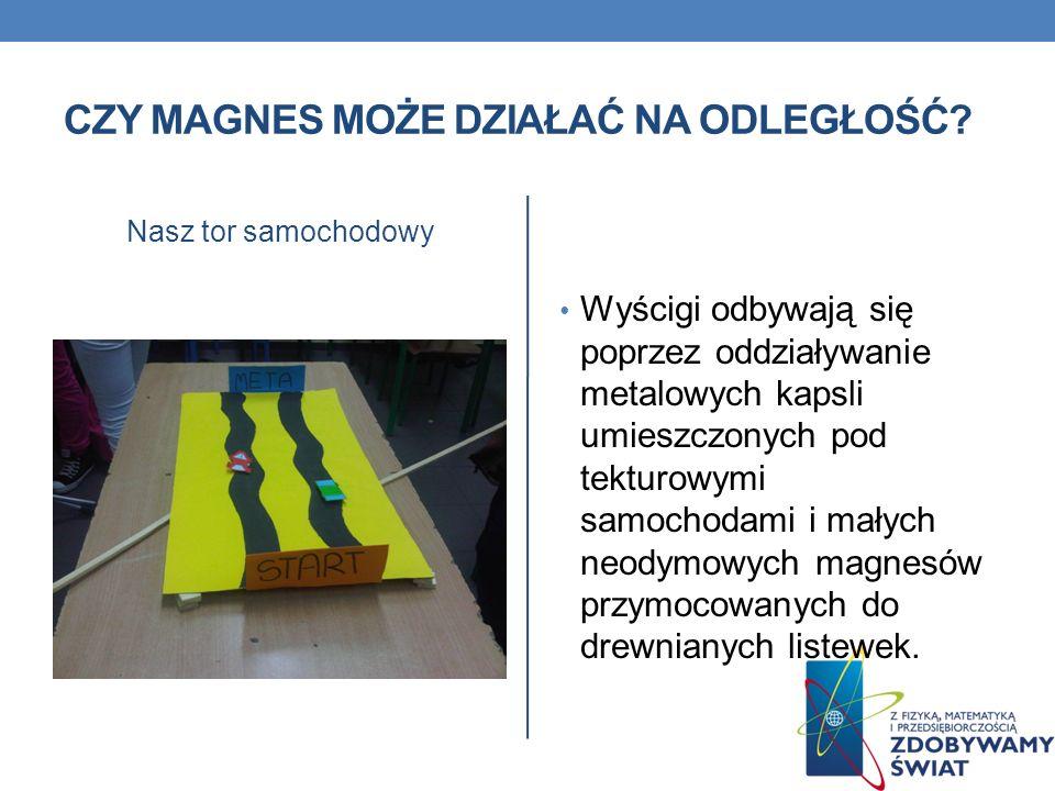 Czy magnes może działać na odległość