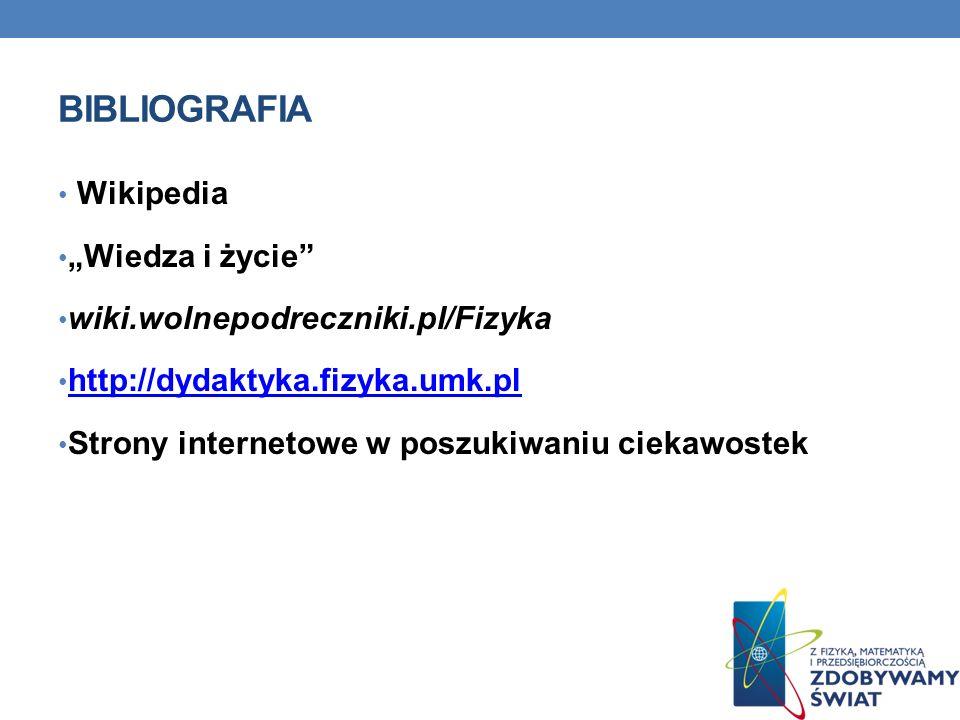 """Bibliografia Wikipedia """"Wiedza i życie"""
