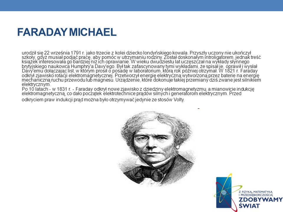 Faraday Michael