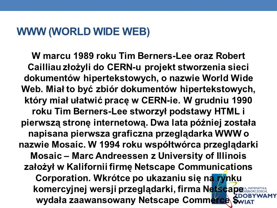 WWW (World Wide Web)‏