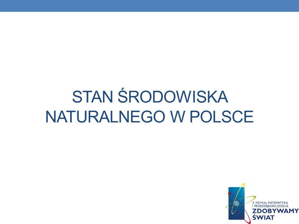 Stan środowiska naturalnego w Polsce