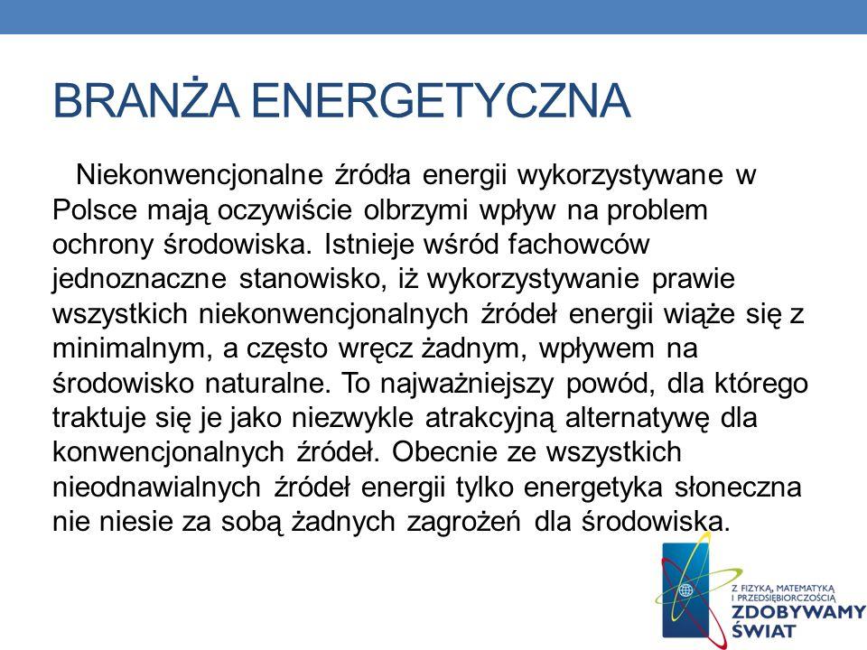 Branża energetyczna