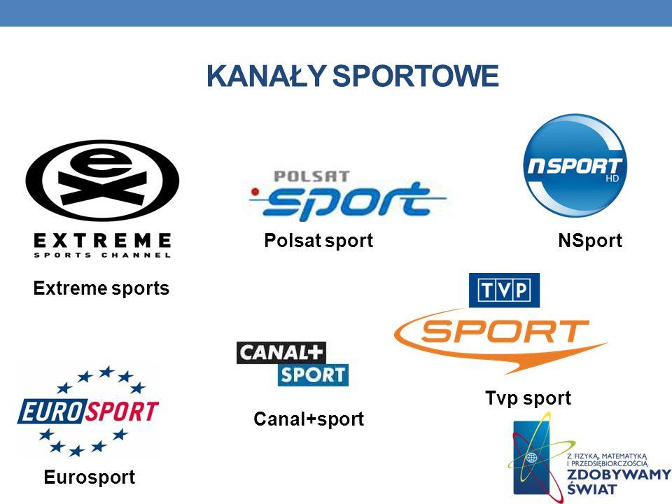 Kanały sportowe Polsat sport NSport Extreme sports Tvp sport