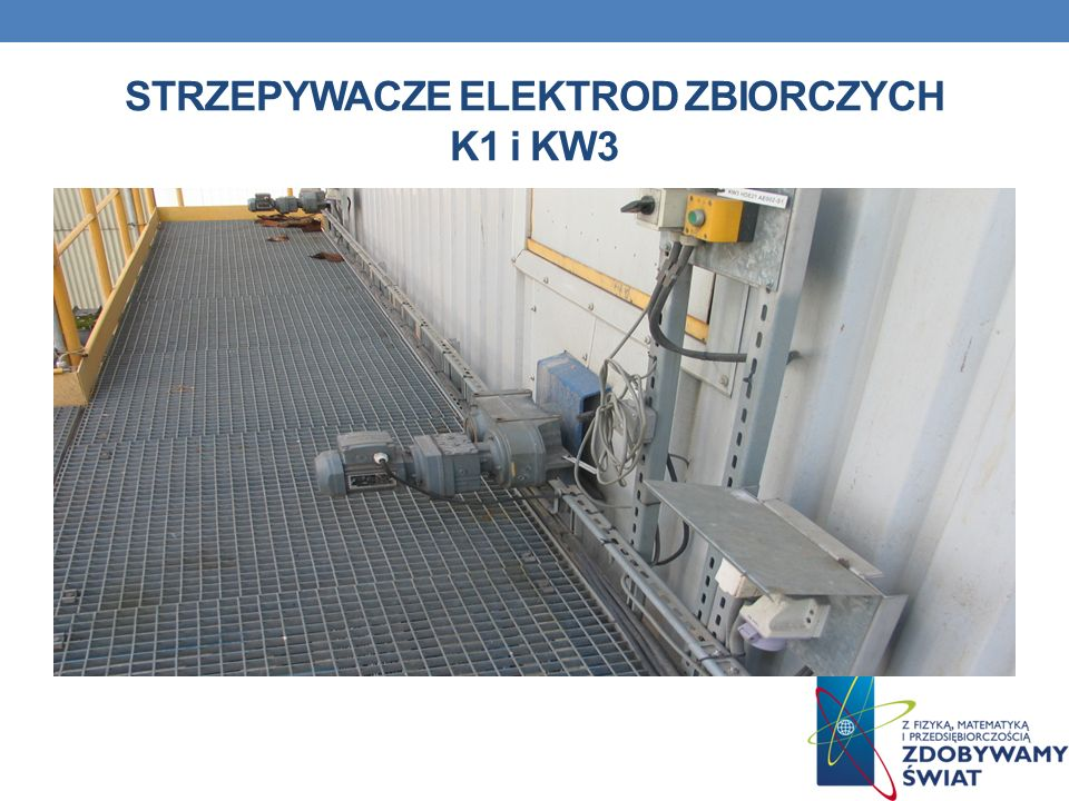 STRZEPYWACZE ELEKTROD ZBIORCZYCH K1 i KW3