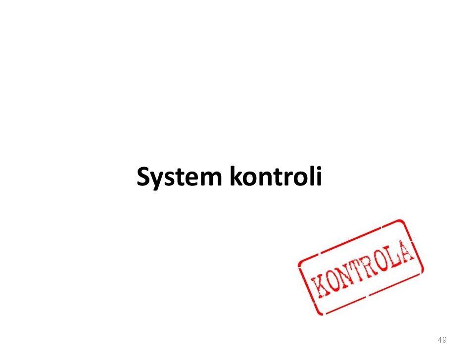 System kontroli