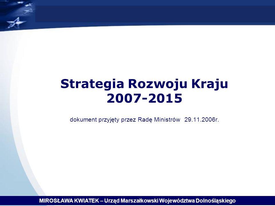 MIROSŁAWA KWIATEK – Urząd Marszałkowski Województwa Dolnośląskiego