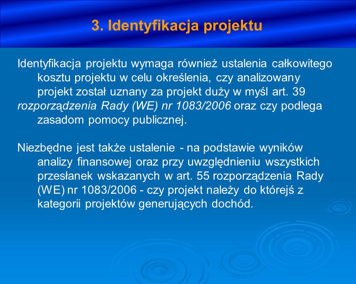 3. Identyfikacja projektu