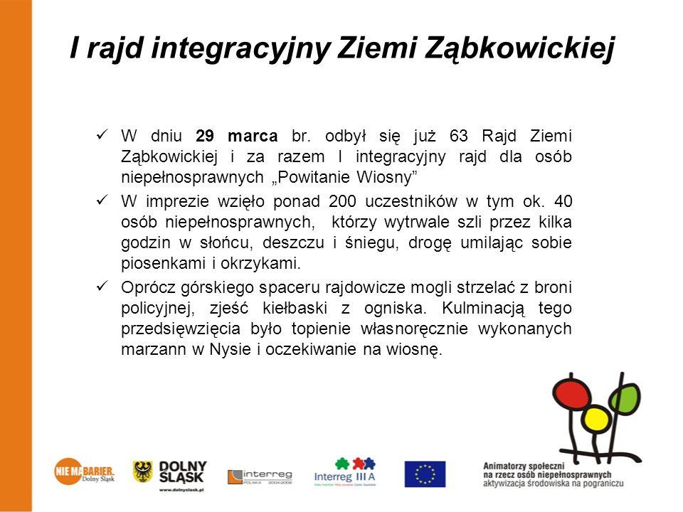 I rajd integracyjny Ziemi Ząbkowickiej