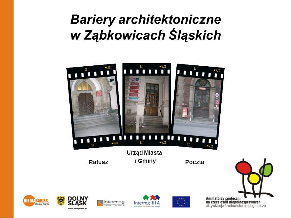 Bariery architektoniczne w Ząbkowicach Śląskich