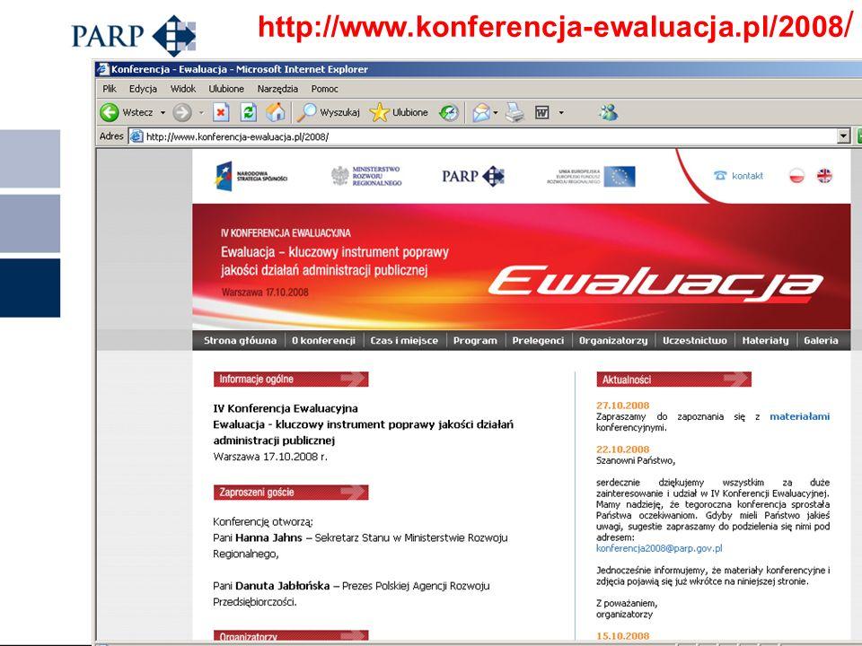 http://www.konferencja-ewaluacja.pl/2008/