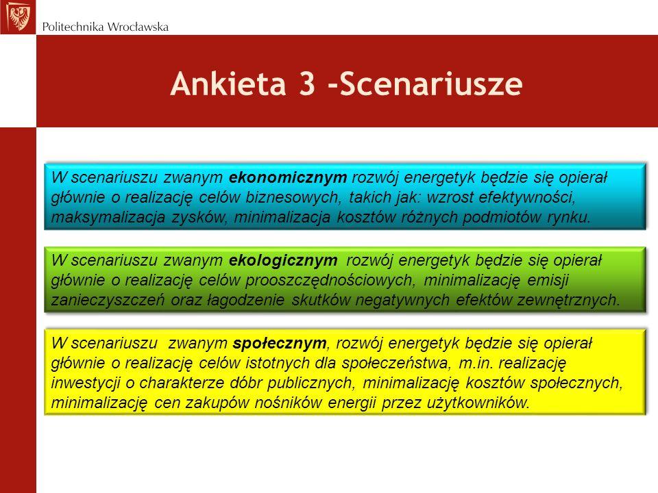 Ankieta 3 -Scenariusze
