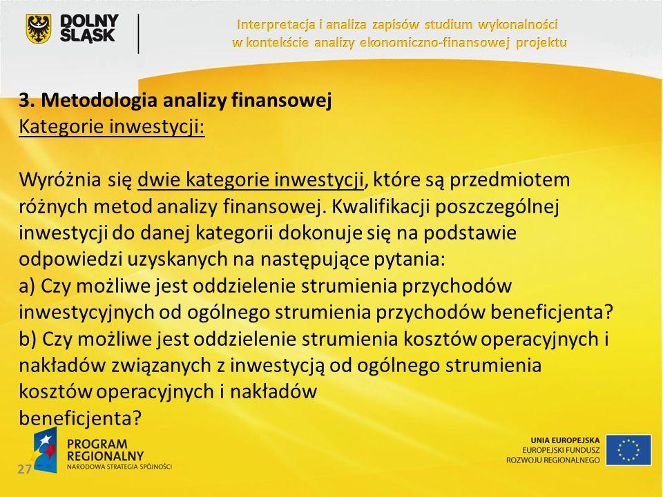 3. Metodologia analizy finansowej