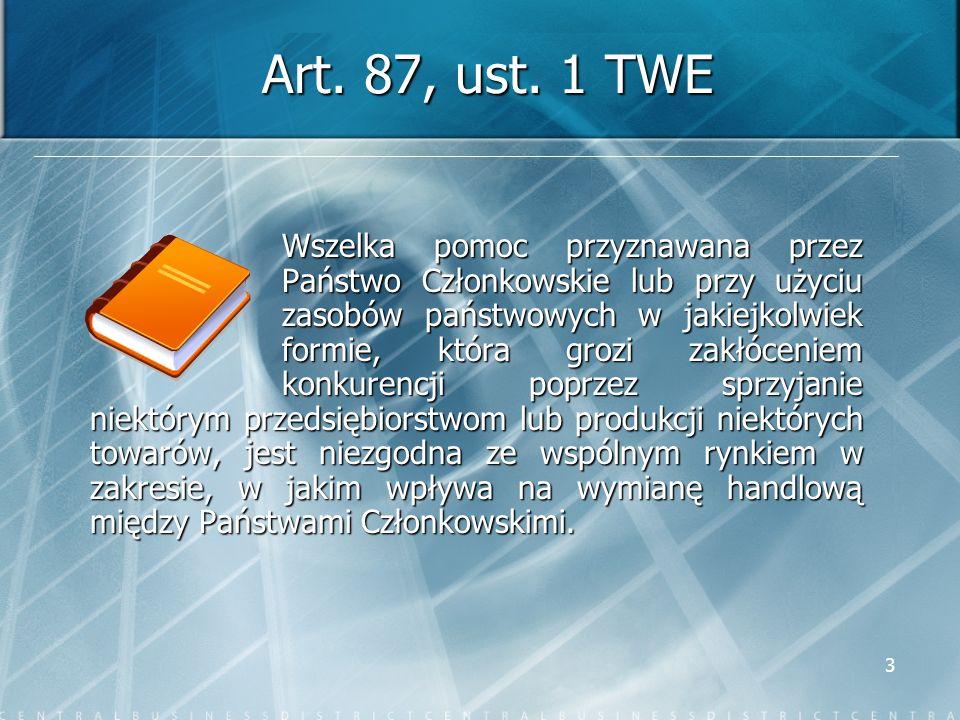 Art. 87, ust. 1 TWE