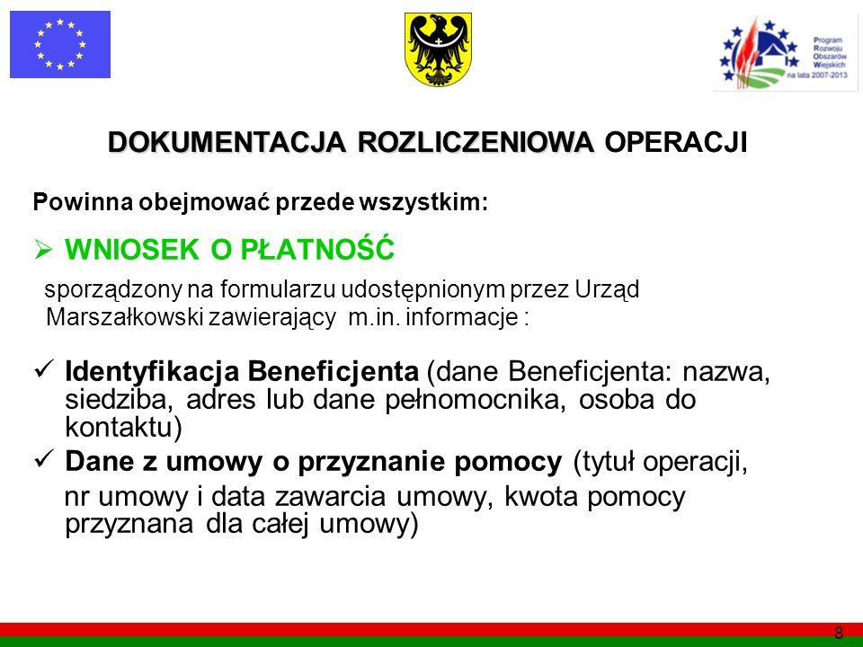 sporządzony na formularzu udostępnionym przez Urząd