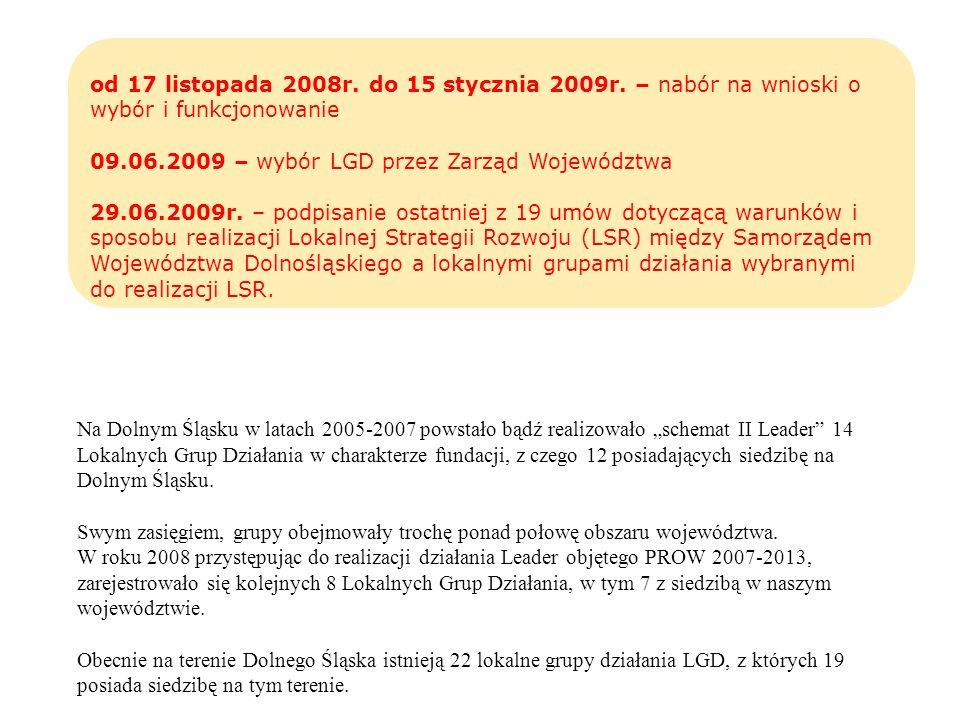 od 17 listopada 2008r. do 15 stycznia 2009r
